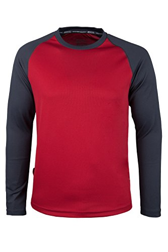 mountain-warehouse-camiseta-de-manga-larga-endurance-para-hombre-rojo-m