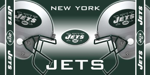 NFL New York Jets Fiber Reactive Beach Towel at Amazon.com