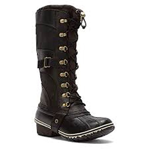 sorel womens conquest boot black size 8 5