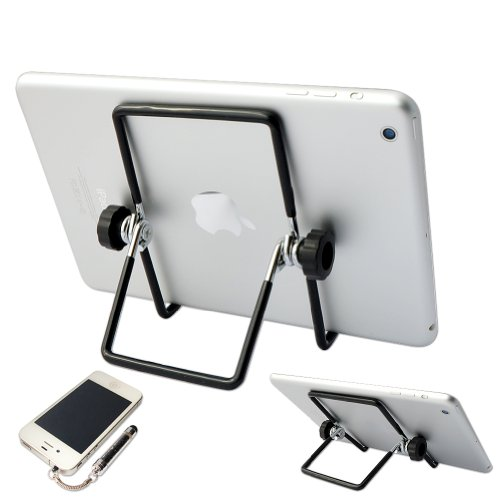"First2savvv Multi-angle Adjustable Portable Foldable Holder Stand for iPad Air 2 iPad mini 3 Samsung Galaxy Tab PRO 12.2 Galaxy NotePRO 12.2"" Tablet - 32 GB sony Z3 Tablet compact Huawei MediaPad T1 8.0 MediaPad M1 8.0 ARCHOS 70 Xenon 7"" 3G Tablet ASUS Me"