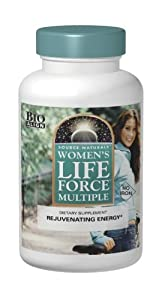 Source Naturals Women's Life Force Multiple No Iron, 90 Tablets