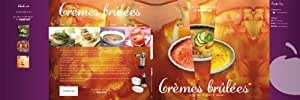 Mastrad F46068UK Livre de recettes crèmes brûlées