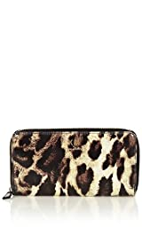 Leopard Print Wallet