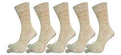 Soft Woolen Thumb socks For Women pack of 5
