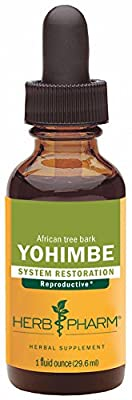 Herb Pharm Yohimbe Bark Extract for Male Reproductive System Support