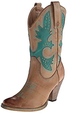 Very Volatile Women's Rio Grande Boot,Tan,6 B US