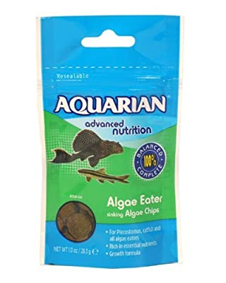 Aquarian Algae Wafer Food Sinking Chips