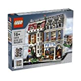 Complete Lego Creator Pet Shop 10218 With Detailed Ground Floor, Accessories And Spiral Staircase