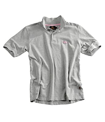 Polo Shirt Alpha Industries Vintage Style, Classic Polohemd washed grey, M