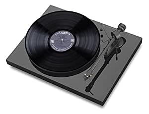 Pro-ject Debut III Turntable In Piano Black W - Ortofon Om-5
