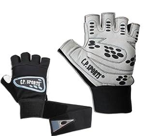 Trainingshandschuhe, Fitness Handschuhe, Supergrip + Bandage,XS