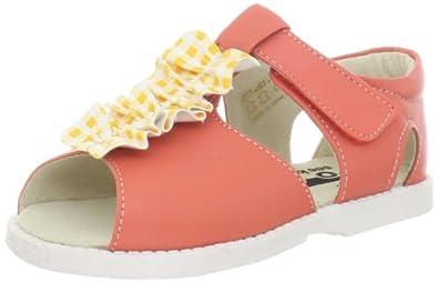 See Kai Run Merrilee Sandal (Infant/Toddler),Peach,4 M US Toddler