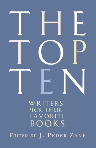 The Top Ten: Writers Pick Their Favorite Books (Top Ten Canada compare prices)