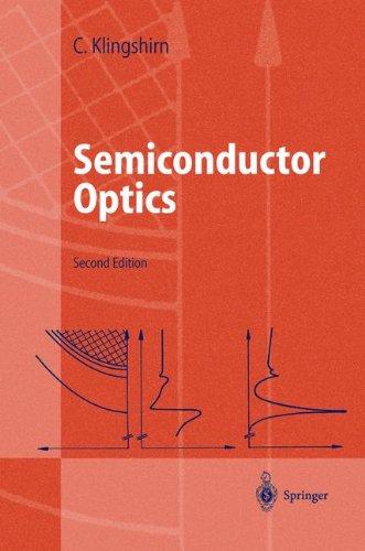 Semiconductor Optics (Advanced Texts in Physics)
