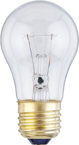 Westinghouse 0400300, 40 Watt, 120 Volt Clear Incand A15 Light Bulb, 2500Hr 350Lm, 60-Pack front-482009