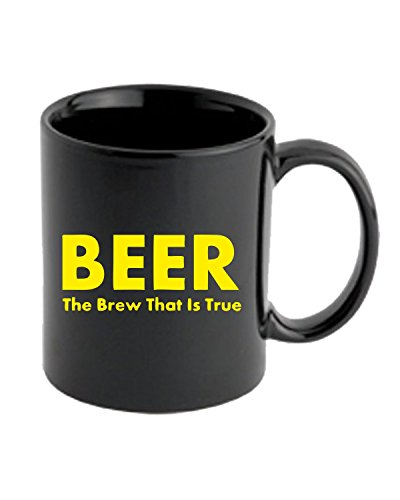 T-Shirtshock - Tazza 11oz OLDENG00700 true brew gold, Taglia 11oz