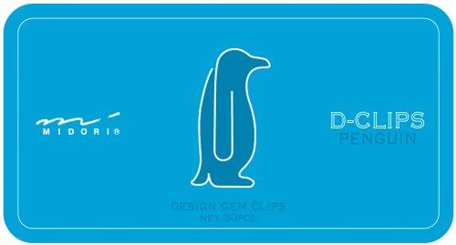 Midori ディークリップス Penguin Muster