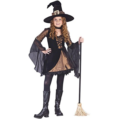 Kid's Sweetie Witch Costume (Size:Small 4-6)