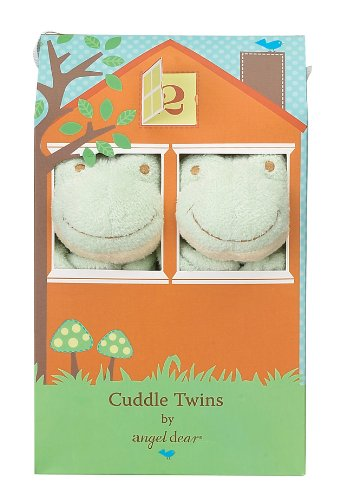 Angel Dear Cuddle Twin Set, Green Froggy