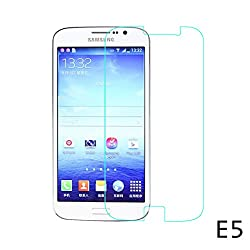 TOS Premium Tempered Glass Combo of 2 Pack/Pieces for Samsung Galaxy E5