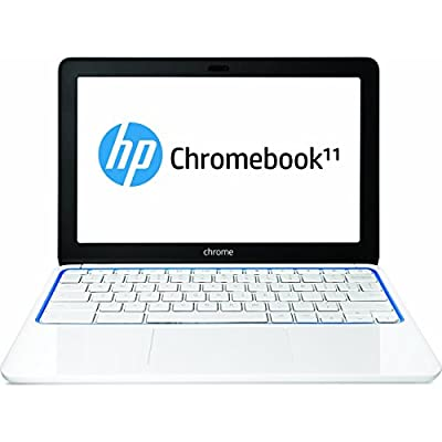 HP Chromebook 11-1101 (White/Blue)
