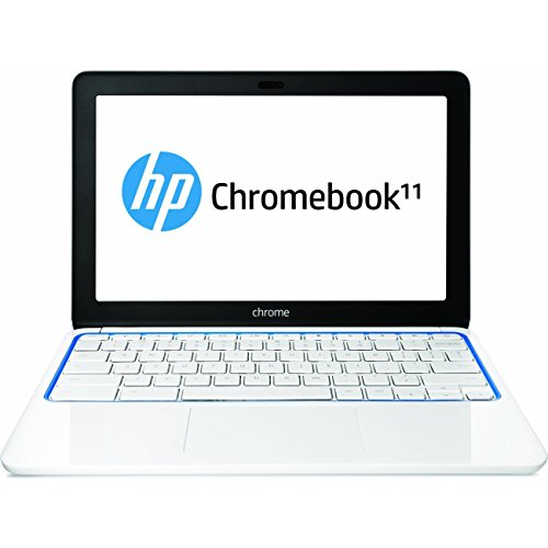 HP Chromebook 11-1101 (White/Blue)