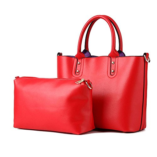 koson-man-mujer-2-en-1-vintage-sling-tote-bolsas-asa-superior-bolso-de-mano-rojo-rojo-kmukhb378
