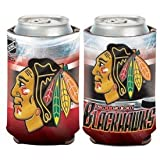 "Chicago Blackhawks Official NHL 4"" Tall Coozie Can Cooler at Amazon.com"