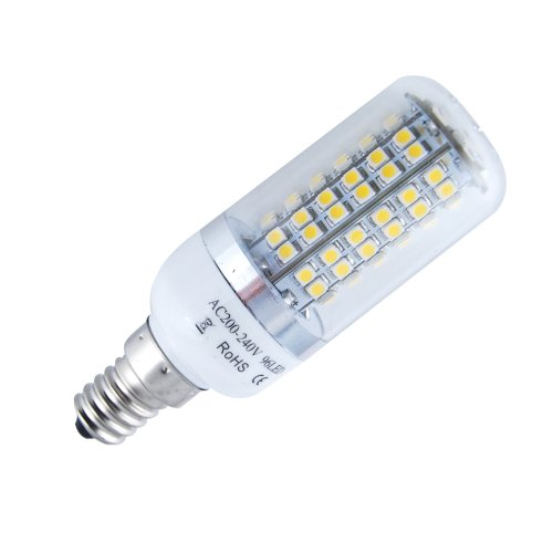 THG E14 Cool White 96 SMD 3528 LED 280LM Corn Light Spotlight Lamp For Home Office Store Exhibition Hall
