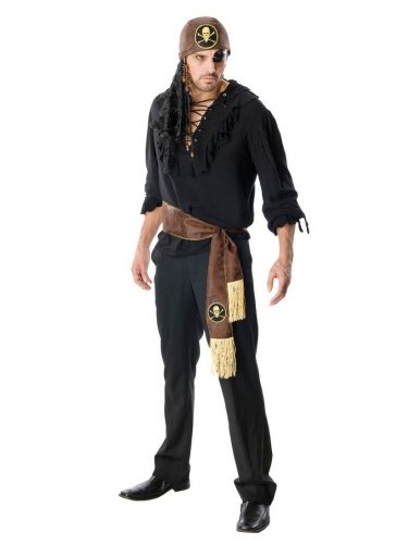 Rubie's Costume Co Men's Pirates Of The Seven Seas Swashbuckler Costume