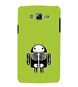 printtech Android Skeleton Back Case Cover for Samsung Galaxy Grand Prime G530h