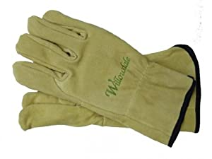 Thornproof pruning gloves ladies garden for Gardening gloves amazon