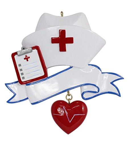 Personalized Nurse Ornament 2016