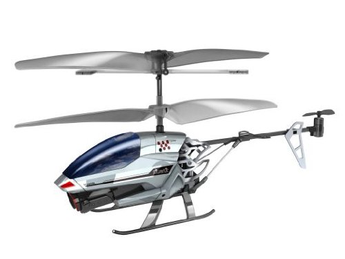 Silverlit Spy Cam 3-Channel Remote Control Gyro Helicopter with Camera (Colours may vary)