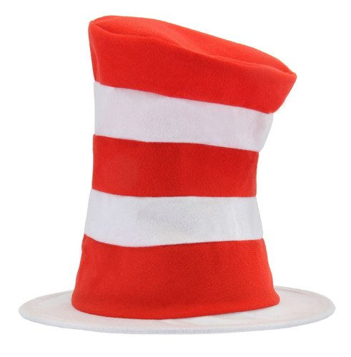 Kids Dr. Seuss Cat In The Hat Costume Hat