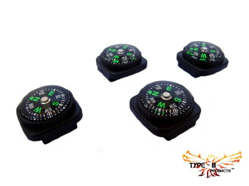 Type-III 4pc Liquid Filled Slip-on Compass Set