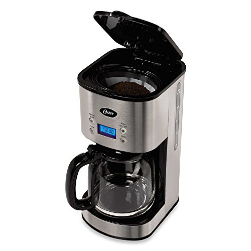 Oster 12-Cup Stainless Steel Programmable Coffee Maker Home Garden Kitchen Dining Kitchen ...