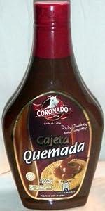 Amazon.com : Coronado Cajeta Quemada Leche De Cabra Dulce ...