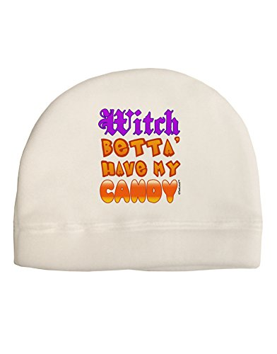 TooLoud Witch Betta Have My Candy Color Adult Fleece Beanie Cap Hat