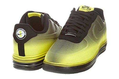 new arrivals c1c66 22e1c Nike Lunar Force 1 VT Mesh Men Shoes Sonic Yellow   Black 599499-700 (