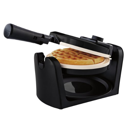 Oster CKSTWFBF10W-ECO Dura Ceramic Flip Waffle Maker, White (Oster Ceramic Waffle compare prices)