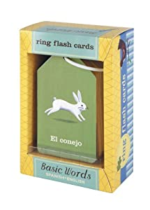 Ring Flash Cards Spanish/English