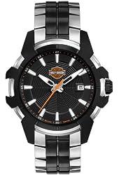 Harley-Davidson Men's Bulova Wrist Watch, Spider Collection. 78B124
