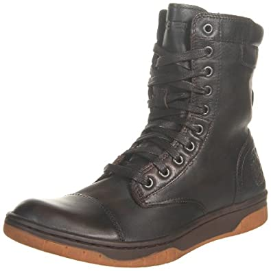 Diesel Men's Basket Butch Boot,Coffee Bean,11 M US