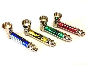 Heaven Metal Smoking Pipe Diamond Cut D3