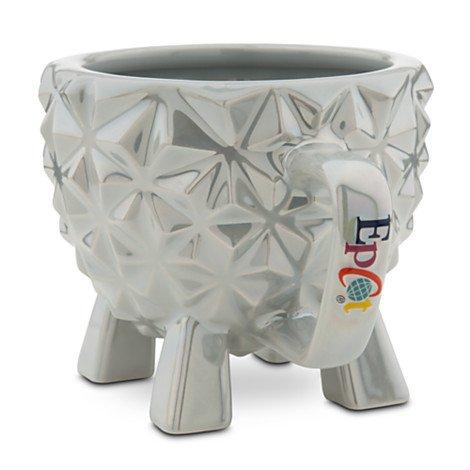 Disney World Exclusive Epcot Spaceship Earth Attraction Ride Coffee Cup Souvenir Mug - New