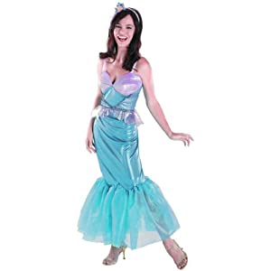 Disguise DI50511-L Womens Disney Deluxe Ariel Costume Size Large