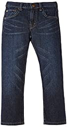 Levi\'s Big Boys\' 505 Regular Fit Jean, Dark Sky, 14 Husky