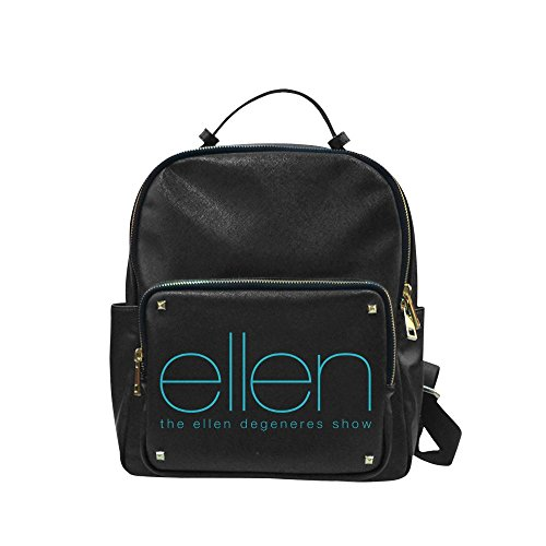 CP-FEED 2016 Ellen Degeneres Show E Logo Unisex Leisure Backpack School Leisure Shoulder Bag (Cool Words Beginning With E)