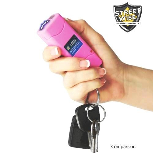 Streetwise Security Products Smack 5,000,000-volt Stun Gun Rechargeable, Pink